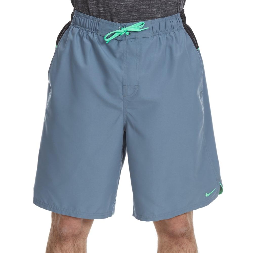 NIKE Men's Core Color Surge Swim Shorts - BLU GRAPH/GRN-483