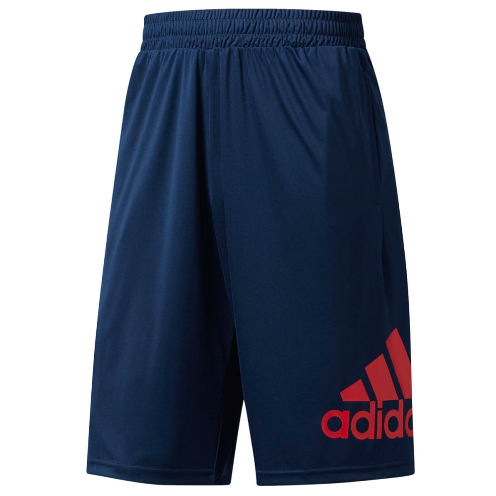 Adidas Men's Crazylight Basketball Shorts - Blue, M