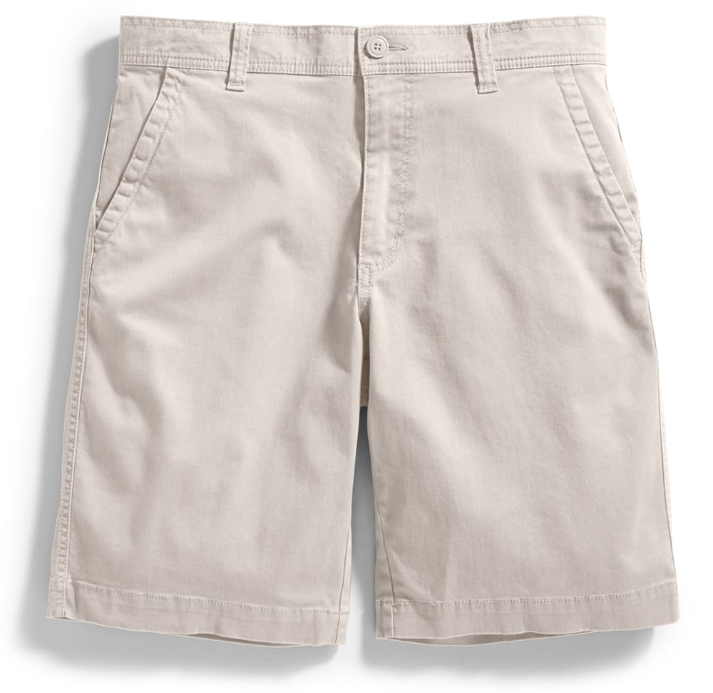 D55 Guys' Flat Front Shorts - STONE