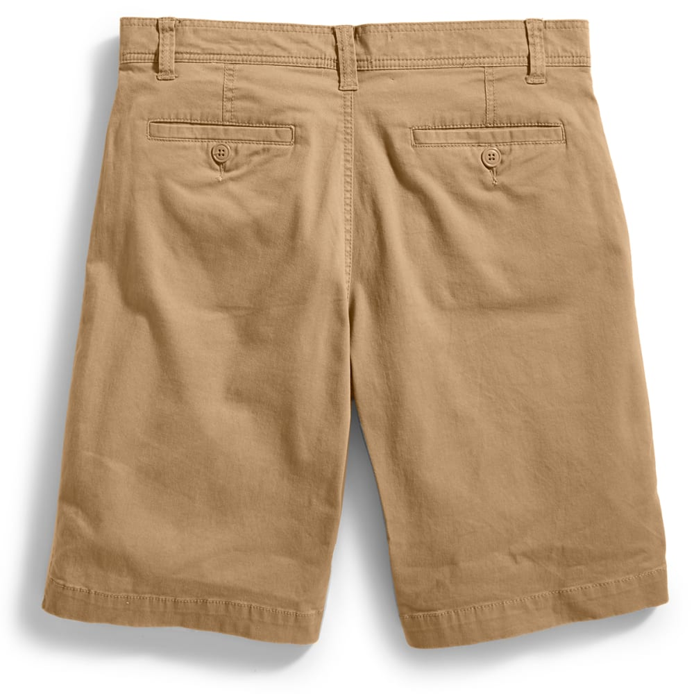D55 Guys' Flat Front Shorts - D CAMEL