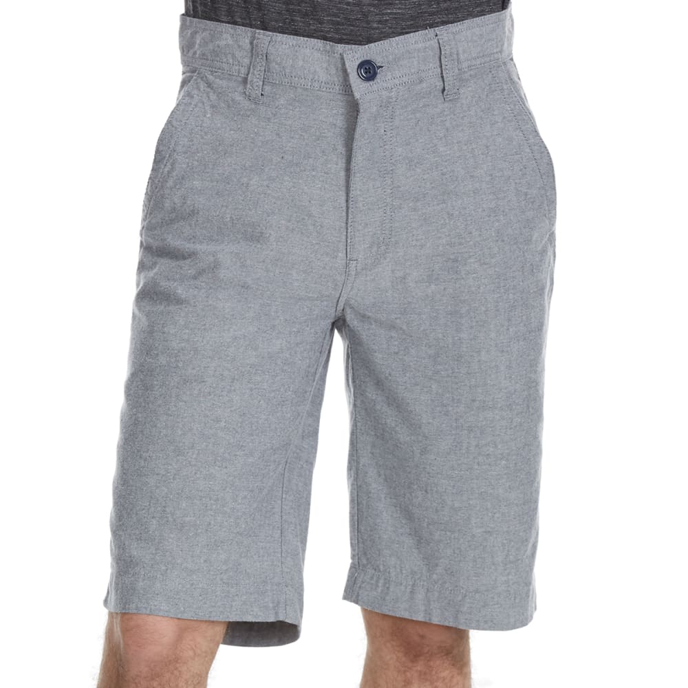 D55 Guys Flat Front Chambray Shorts - Blue, 29