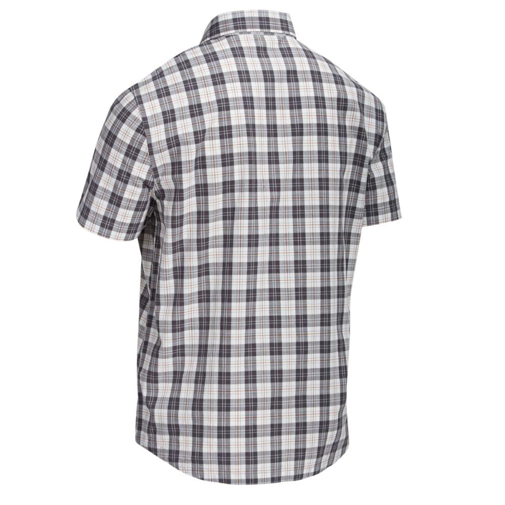 EMS Men's Ranger Plaid Short-Sleeve Shirt - PEWTER