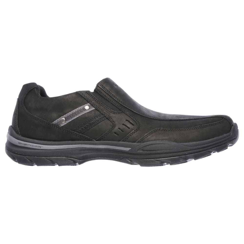 SKECHERS Men's Skech-Air Brencen Slip-On Shoes - BLACK