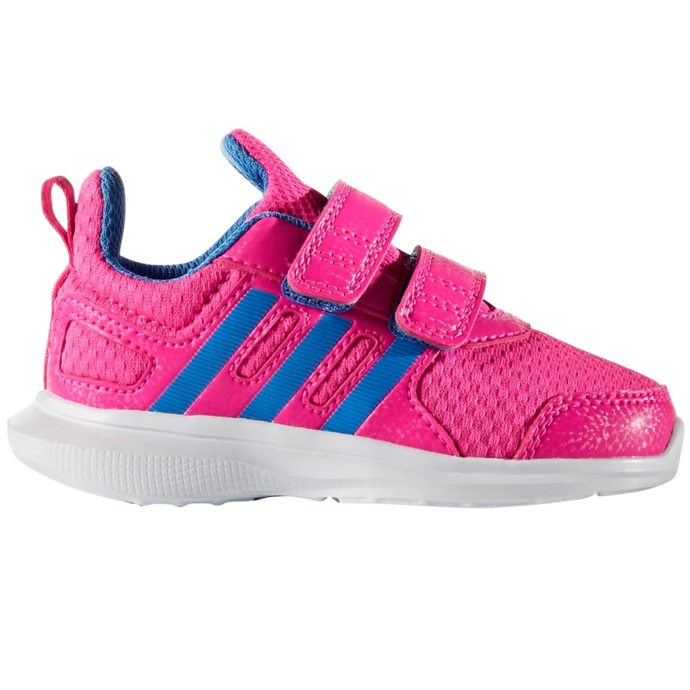 Adidas Infant Girls Hyperfast 2.0 Shoes - Red, 5