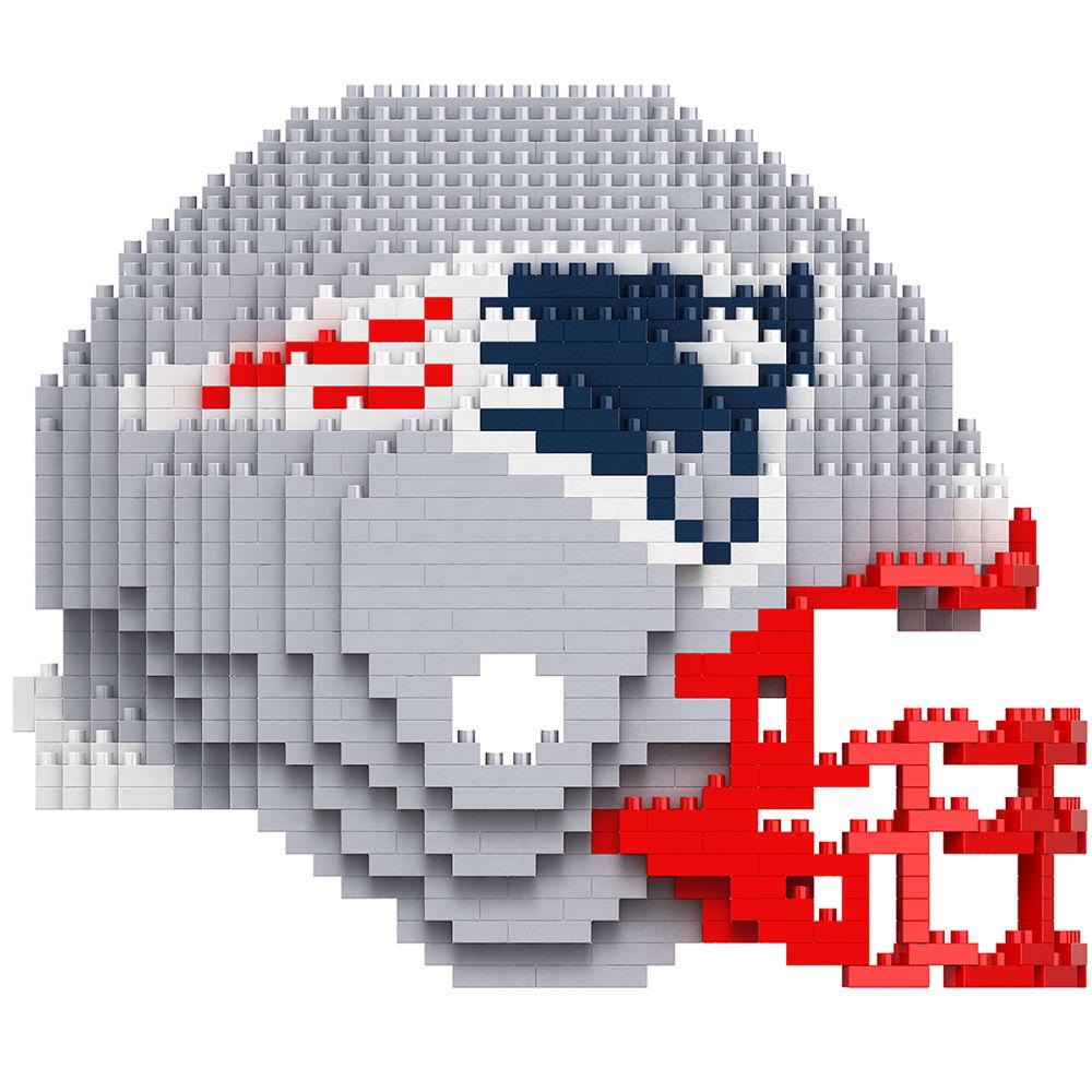 NEW ENGLAND PATRIOTS 3D BRXLZ Helmet Puzzle - PATRIOTS