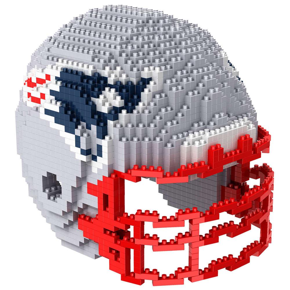 NEW ENGLAND PATRIOTS 3D BRXLZ Helmet Puzzle NO SIZE
