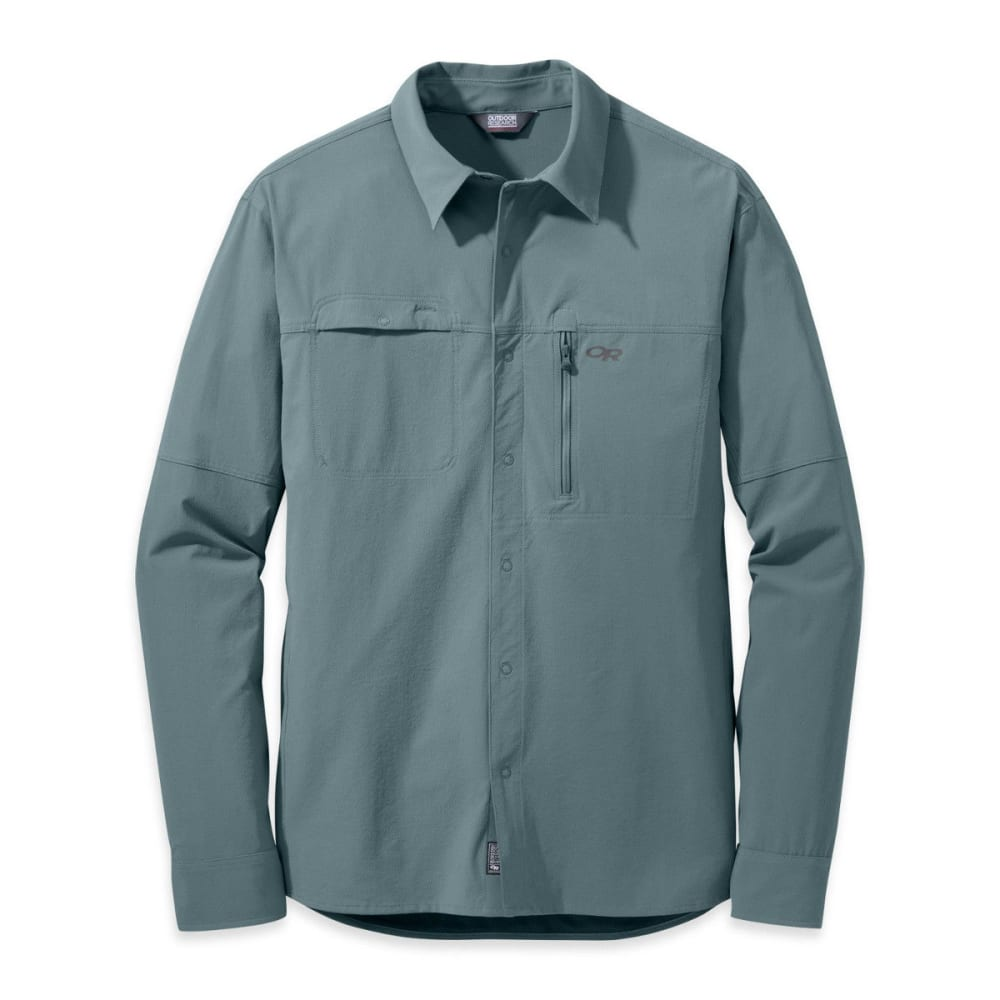 OUTDOOR RESEARCH Men's Ferrosi Utility Long-Sleeve Shirt - SHADE