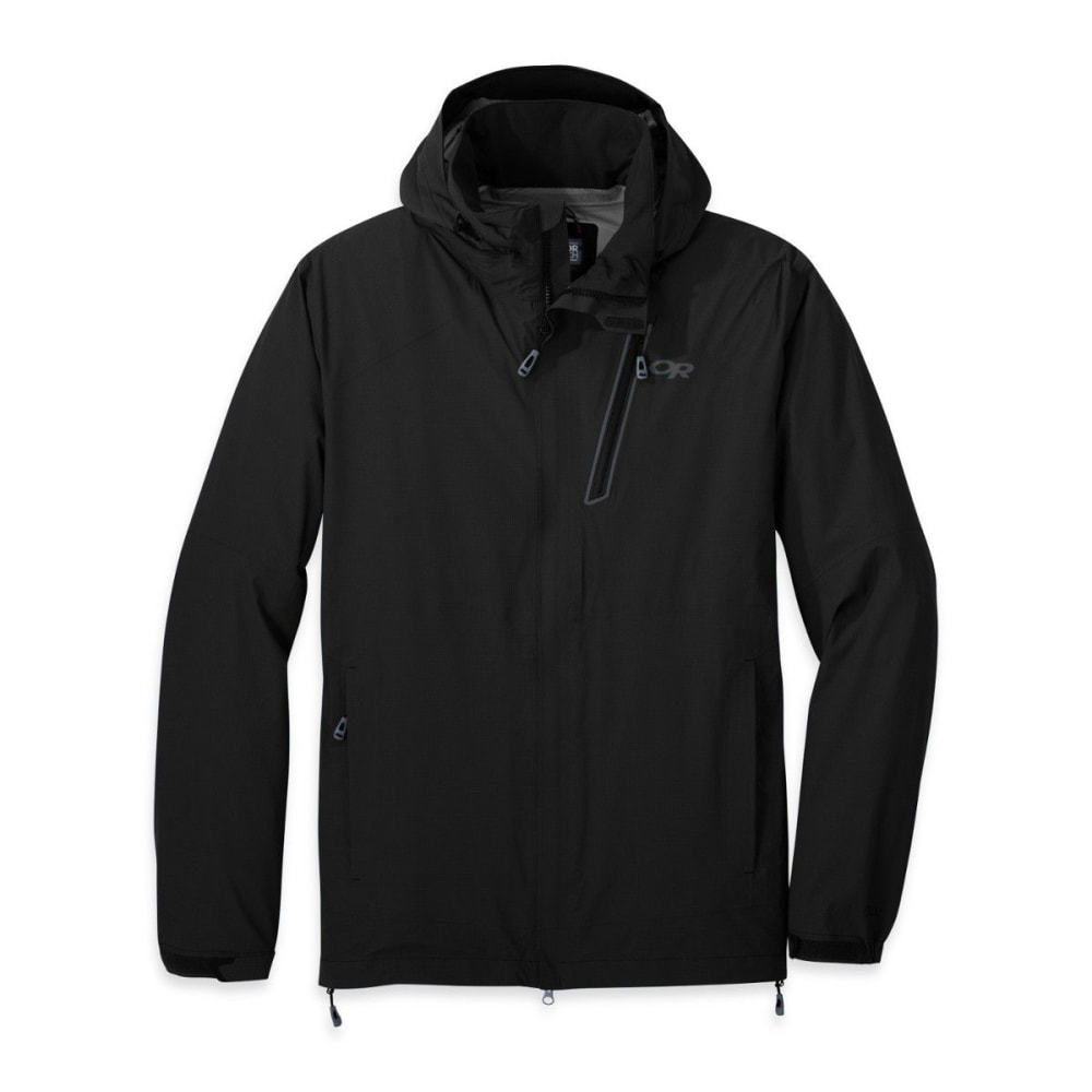 OUTDOOR RESEARCH Men's Valley Jacket - BLACK