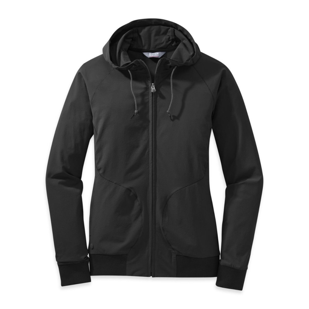 Outdoor Research Women's Ferrosi Metro Hoody - Black, S