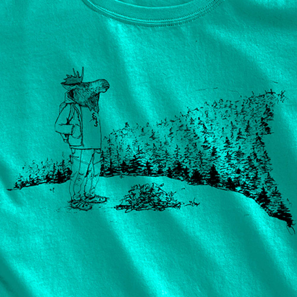 EMS Women's Moose With a View Graphic Tee - COLUMBIA