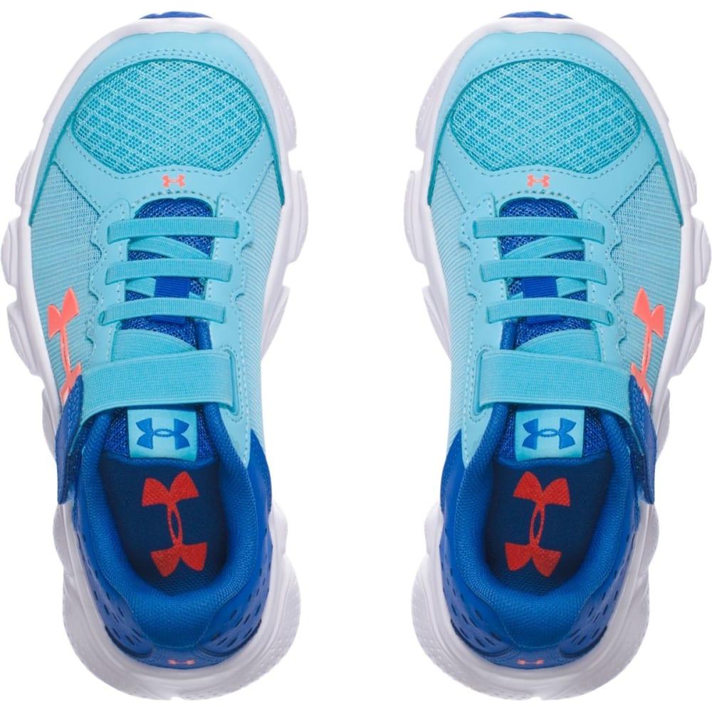 UNDER ARMOUR Girls' Pre-School Assert 6 AC Running Shoes, Venetian Blue - VENETIAN BLUE