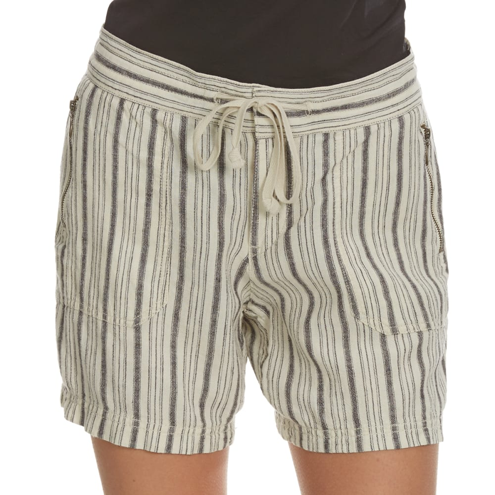 UNIONBAY Women's Sybil Striped Shorts - 138J-ORIGAMI STRIPE