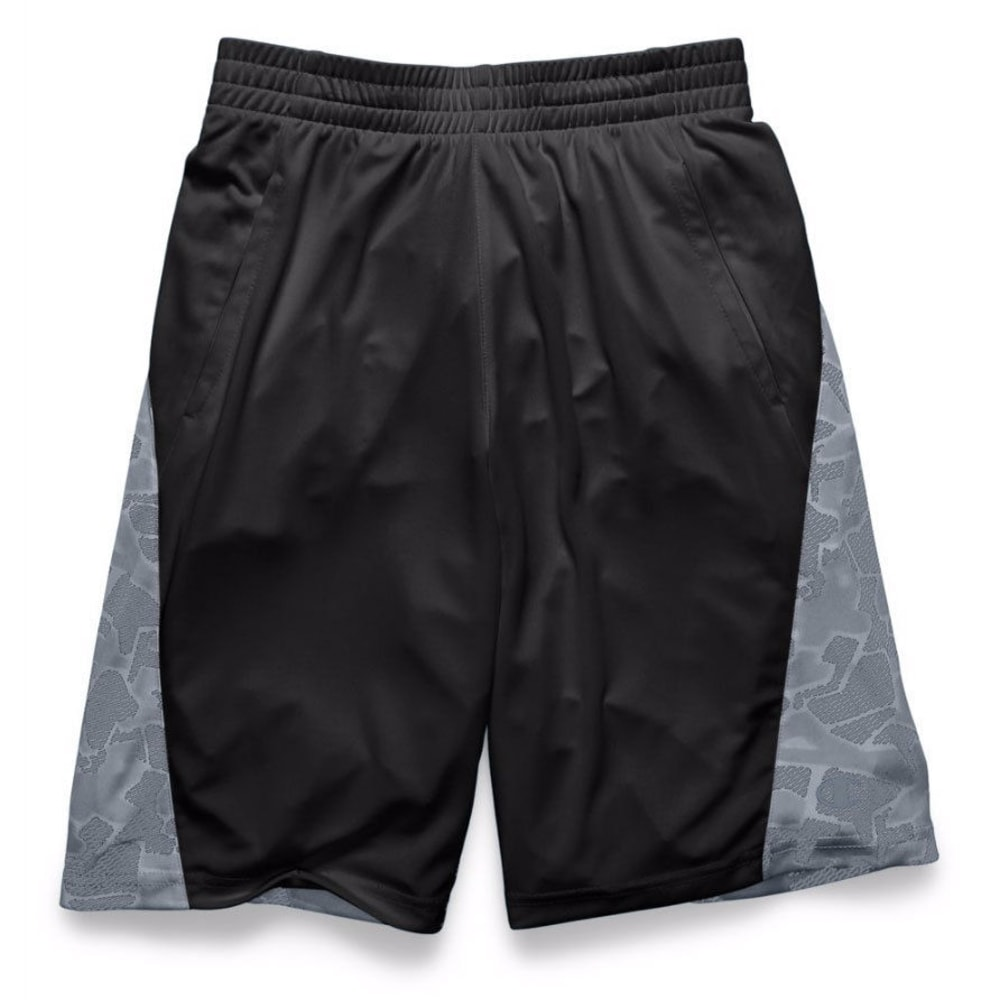 CHAMPION Boys' Two-Faced Shorts - BLACKCONCRETE