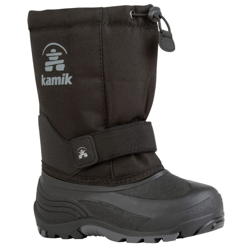 KAMIK Boys' Rocket Boots - BLACK