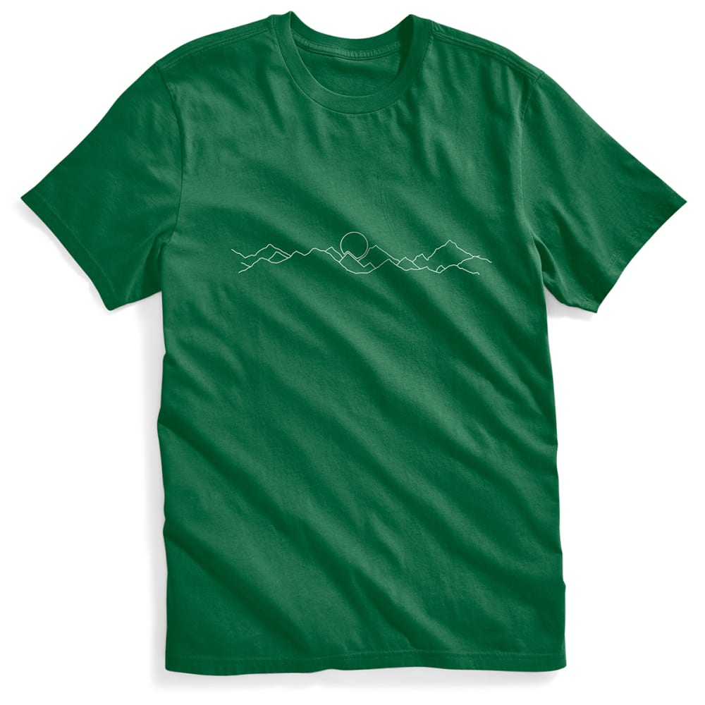 Ems(R) Men's Ems Mountain Graphic Tee - Green, S