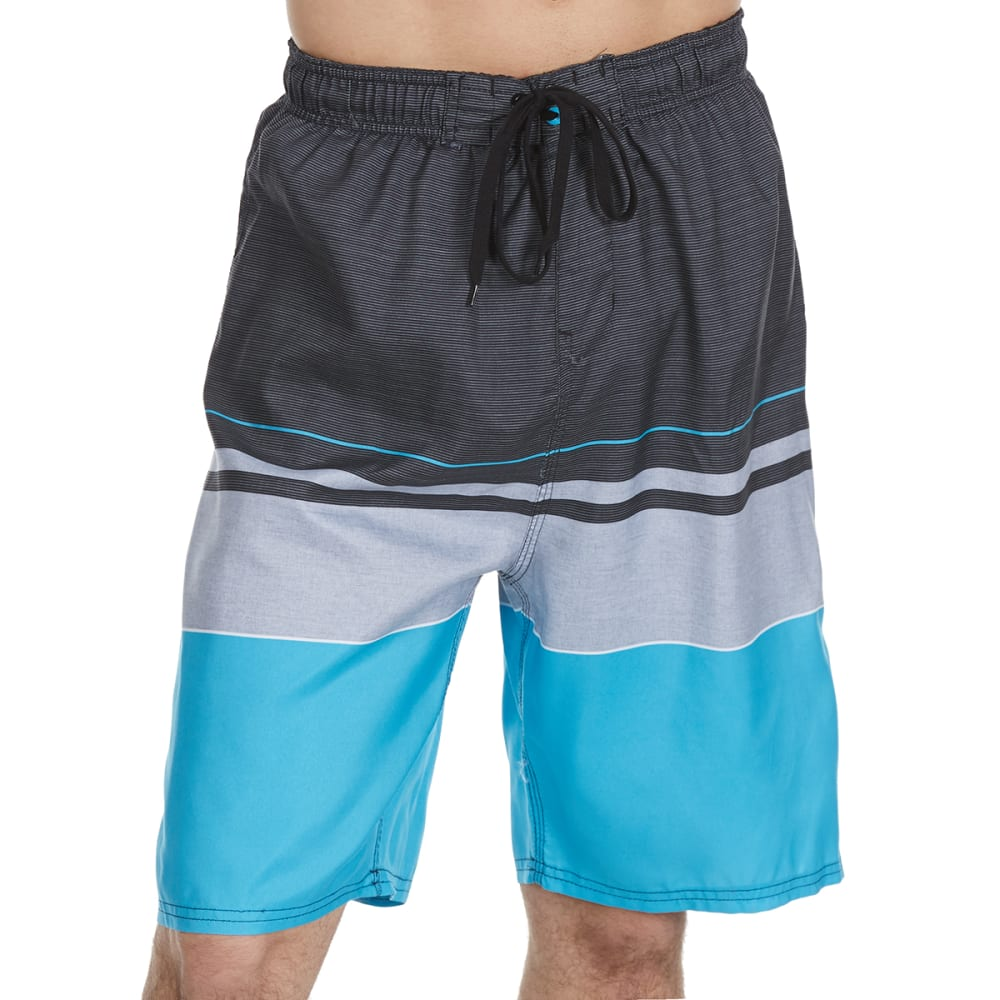 Burnside Men's Empire Swim Shorts - Blue, M