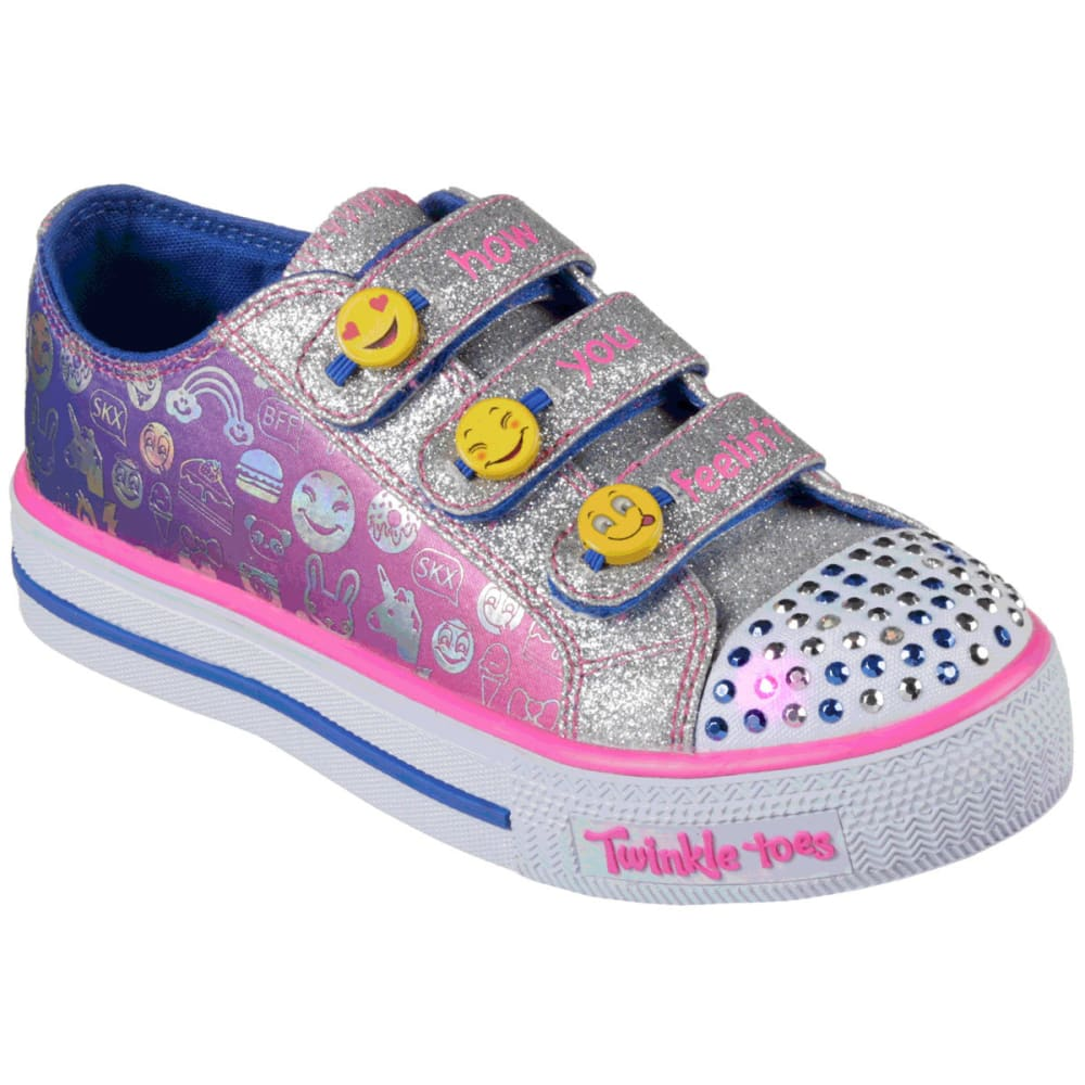 SKECHERS Girls' Twinkle Toes: Shuffles- Expressionista Shoes 1