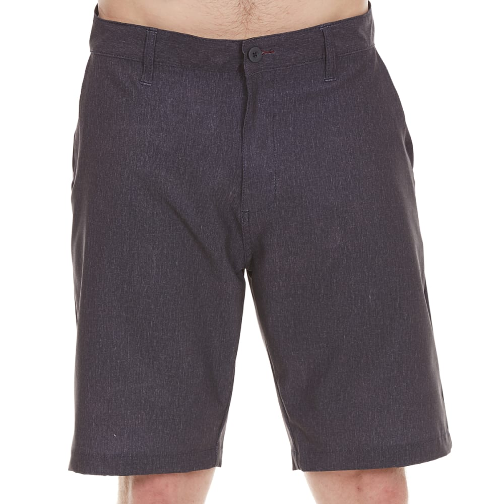 BURNSIDE Guys' Dual Function Shorts - CHARCOAL