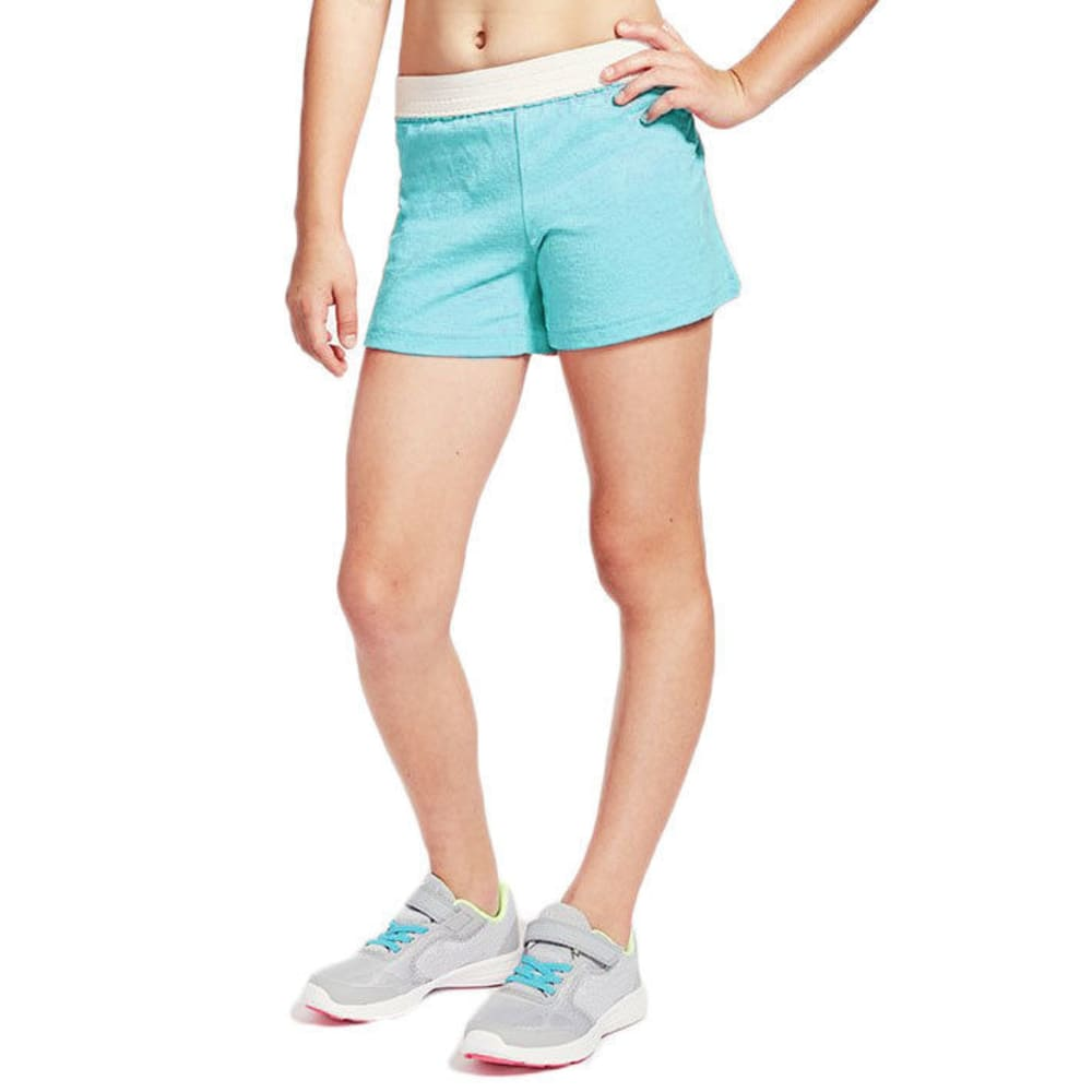 SOFFE Girls' Authentic Soffe Low-Rise Shorts - BLUERADIANCE-BRADI