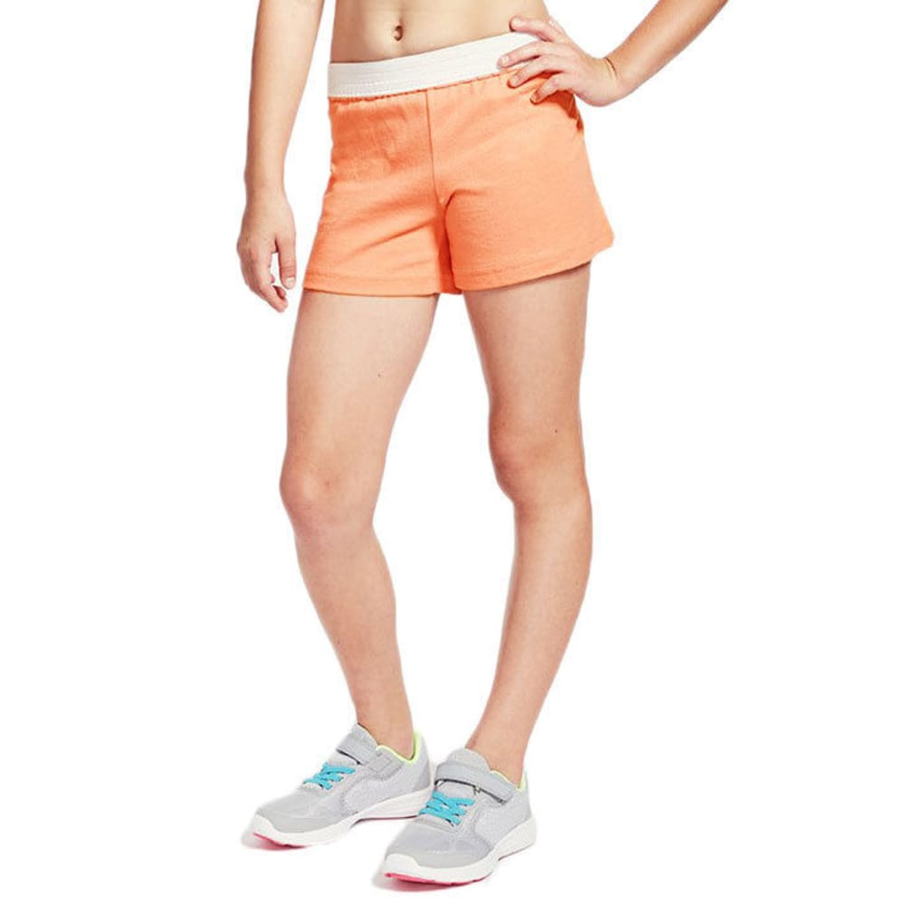 SOFFE Girls' Authentic Soffe Low-Rise Shorts - FIERYCORAL-FIRYC