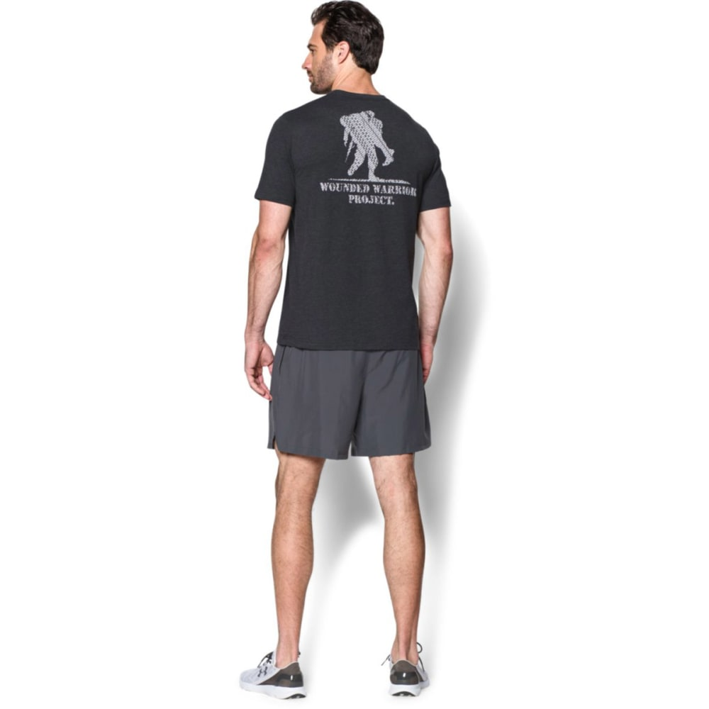 UNDER ARMOUR Men's WWP Logo Short-Sleeve Tee - BLACK-001