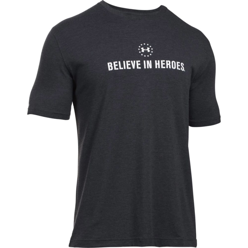 UNDER ARMOUR Men's WWP Logo Short-Sleeve Tee - BLACK-001