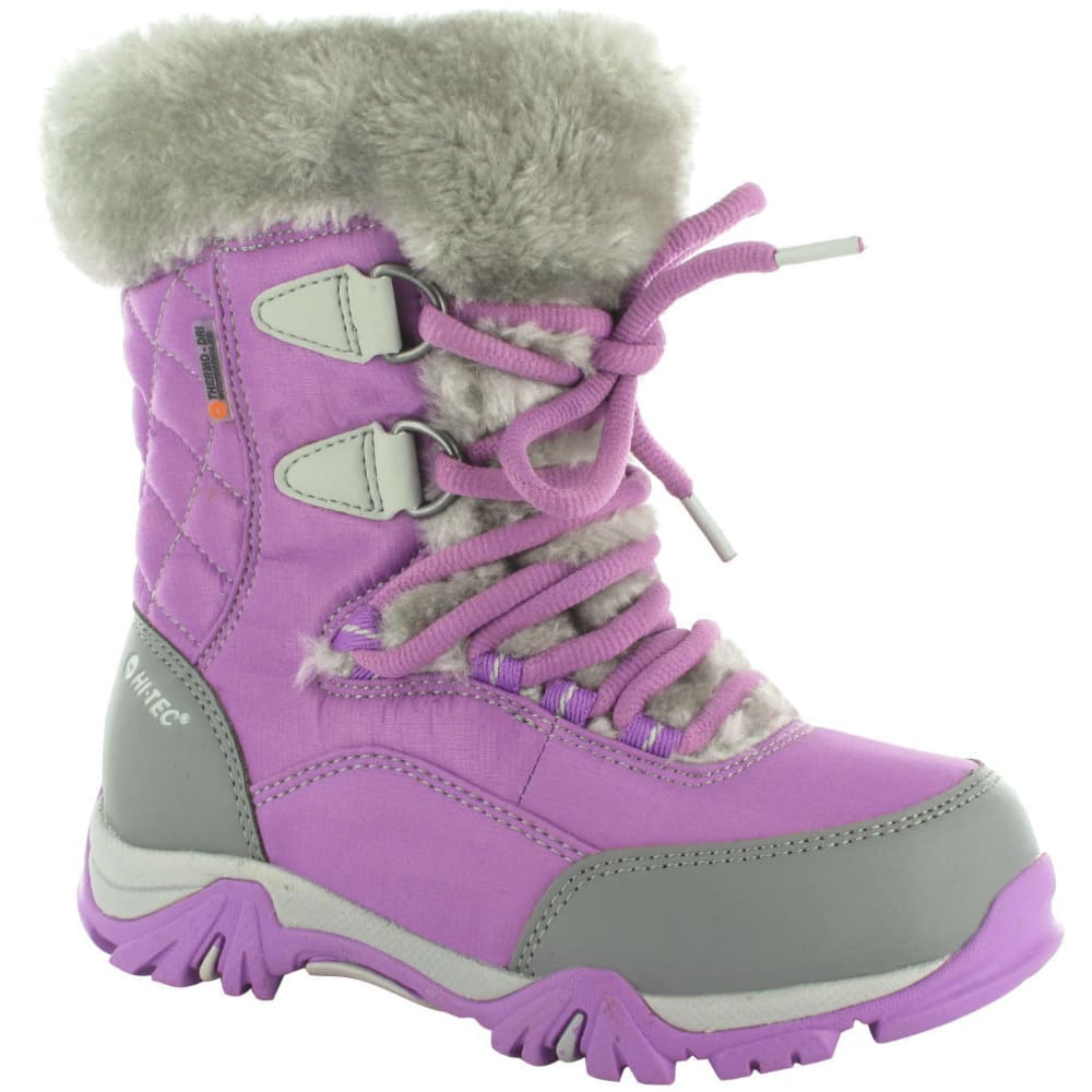 HI-TEC Girls' St Moritz Lite 200 WP Jr. Boots - ORCHID/COOL GREY