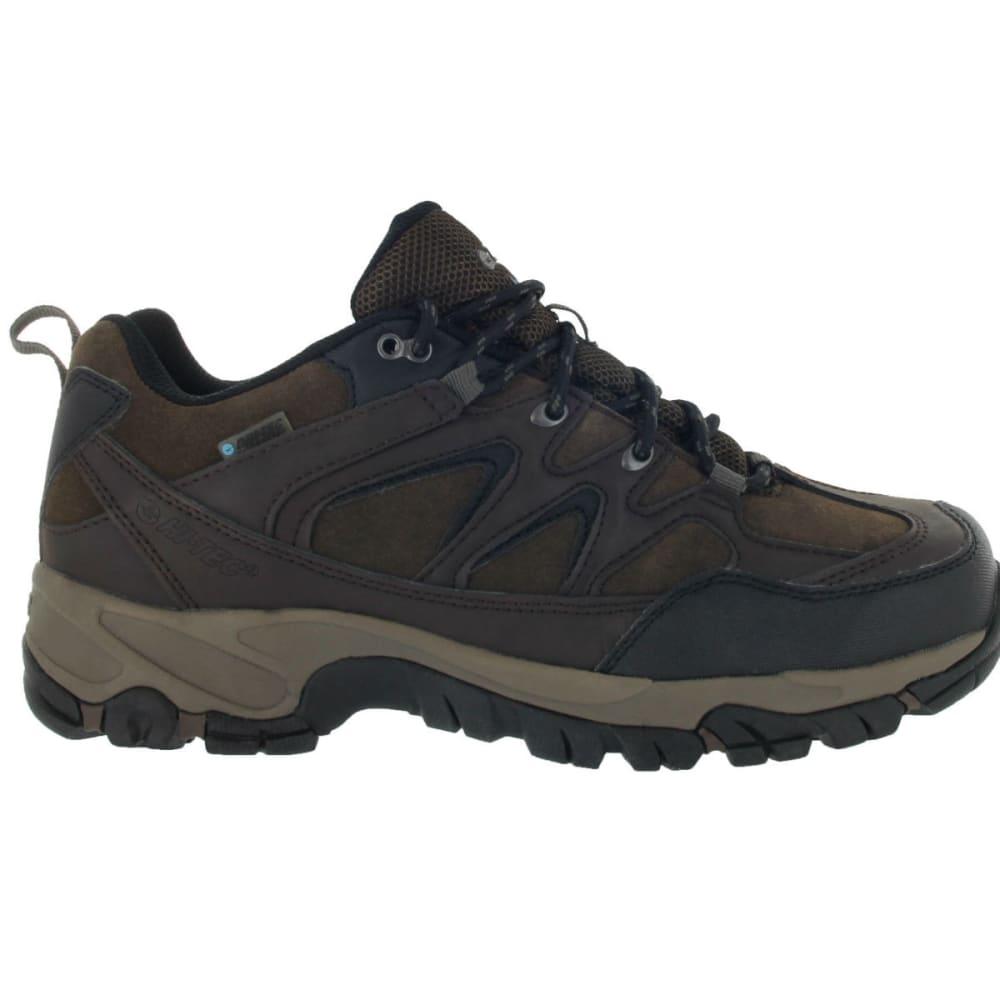 HI-TEC Men's Altitude Trek Low Waterproof Shoes - DARK CHOCOLATE