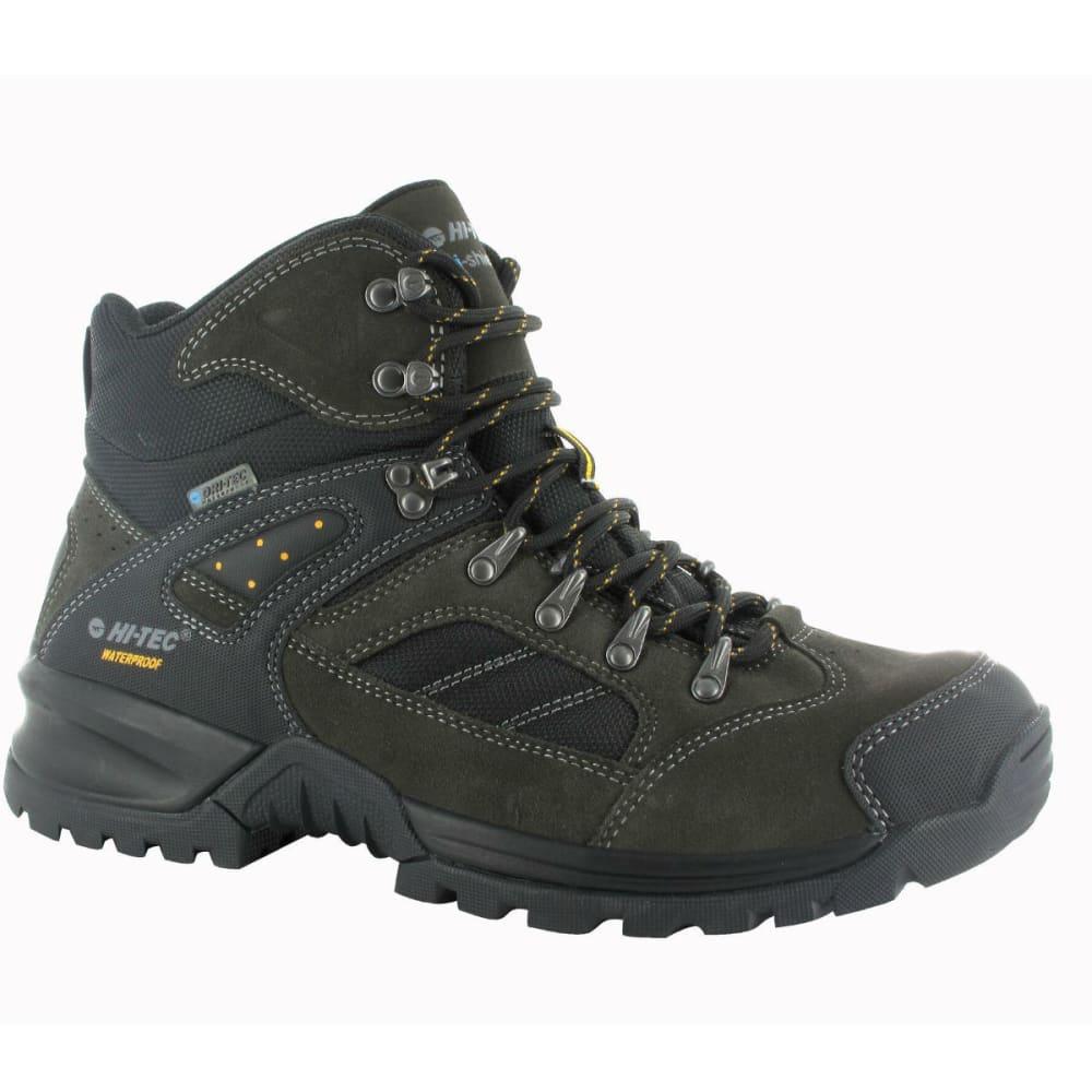 HI-TEC Men's Mount Diablo i WP Hiking Boots - DK CHAR/BLK/GREY
