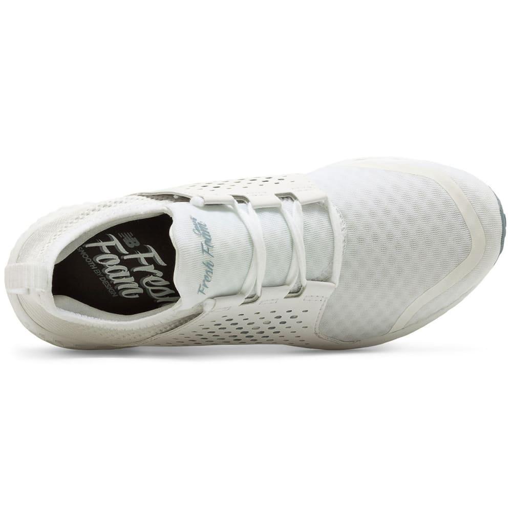 NEW BALANCE Women's Fresh Foam Cruz Running Shoes, White - WHITE