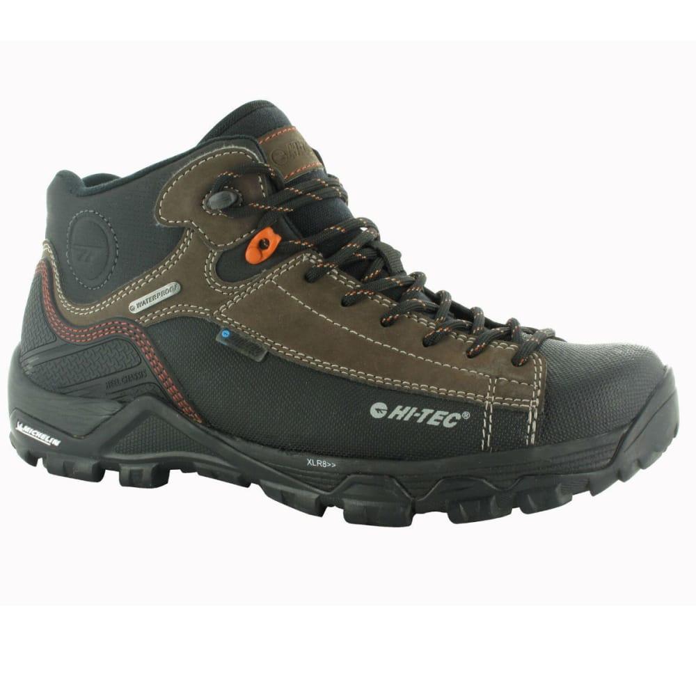 HI-TEC Men's Trail Ox Chukka I WP Boots - DK CHOCOLATE/ORG