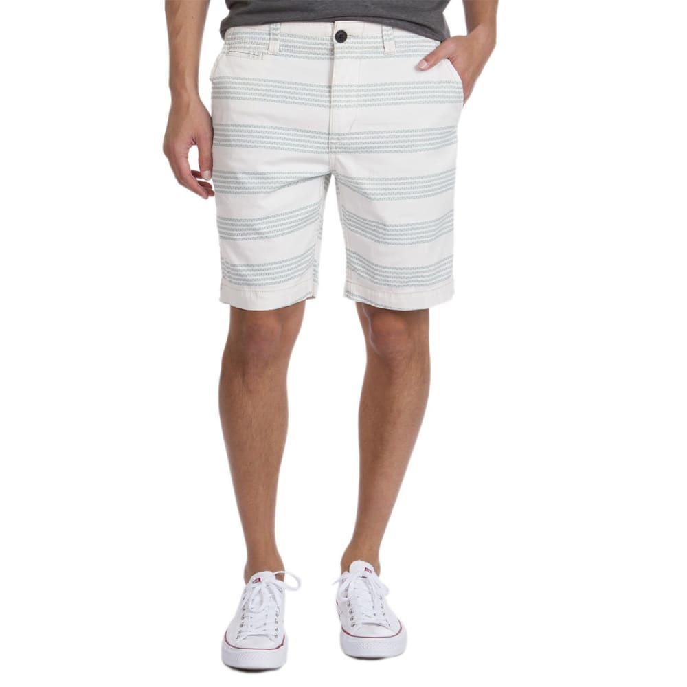 UNIONBAY Guys' Fenton Printed Chino Shorts - STONE