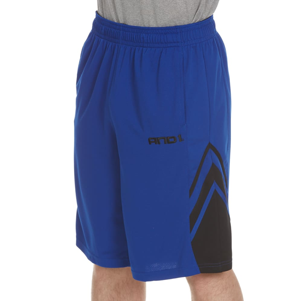 AND1 Men's Arc Baller Mesh Shorts S