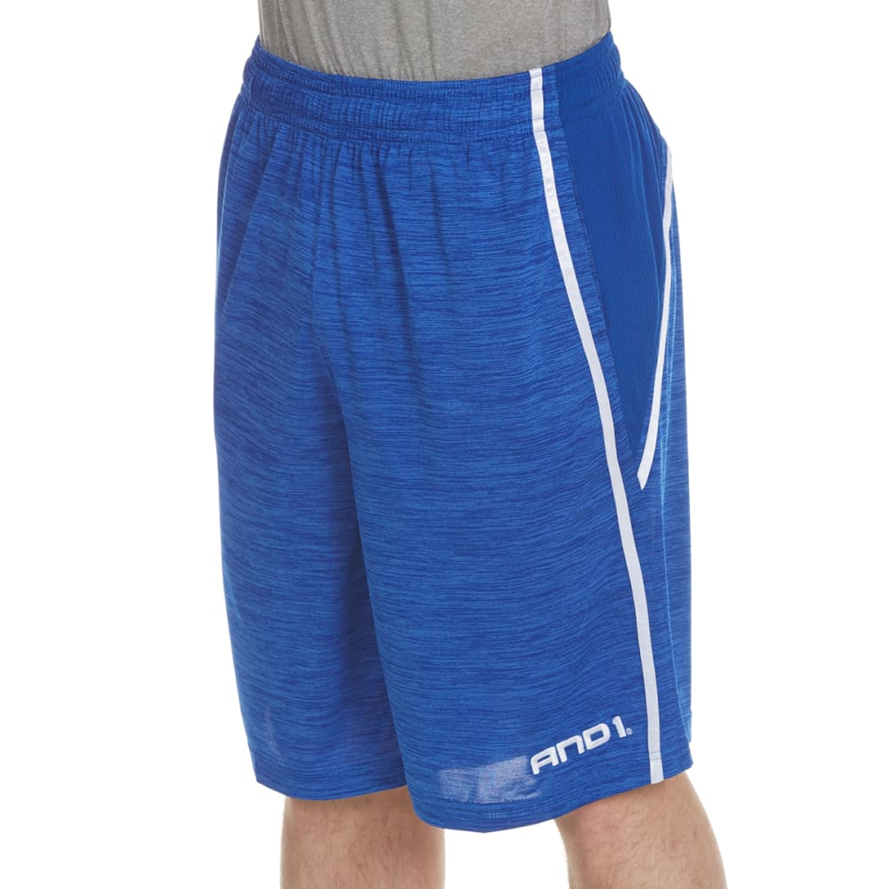 AND1 Men's Floor General Space-Dye Shorts S