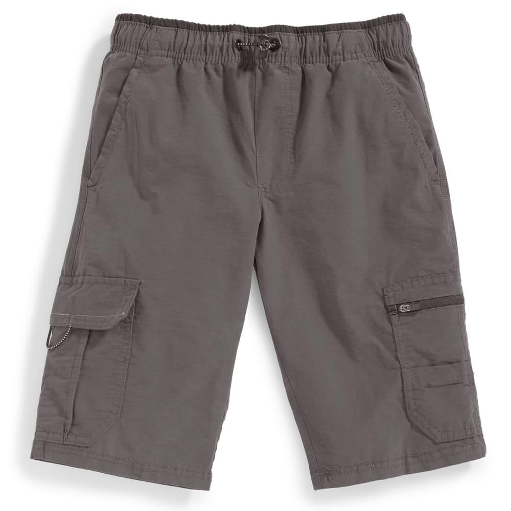 OCEAN CURRENT Boys' Runner Bungee Waist Shorts - GUN
