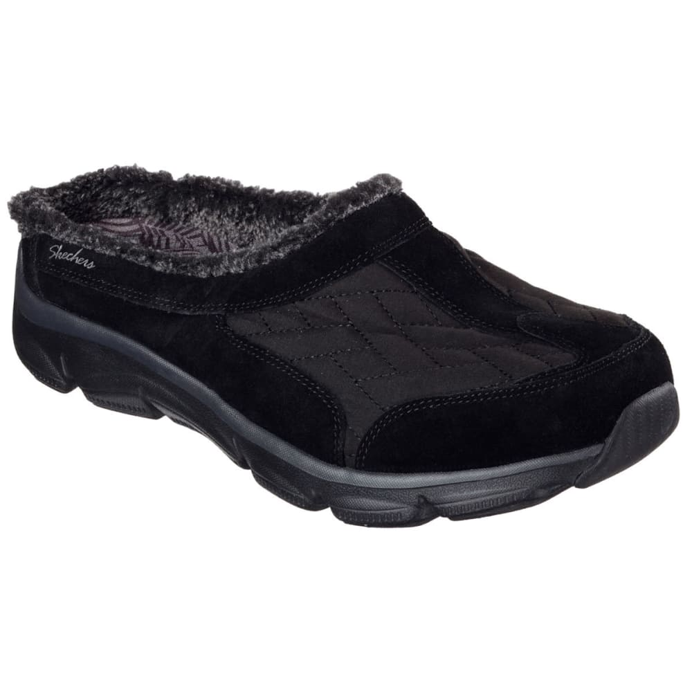 SKECHERS Women's Relaxed Fit: Comfy Living – Chillax Shoes - BLACK