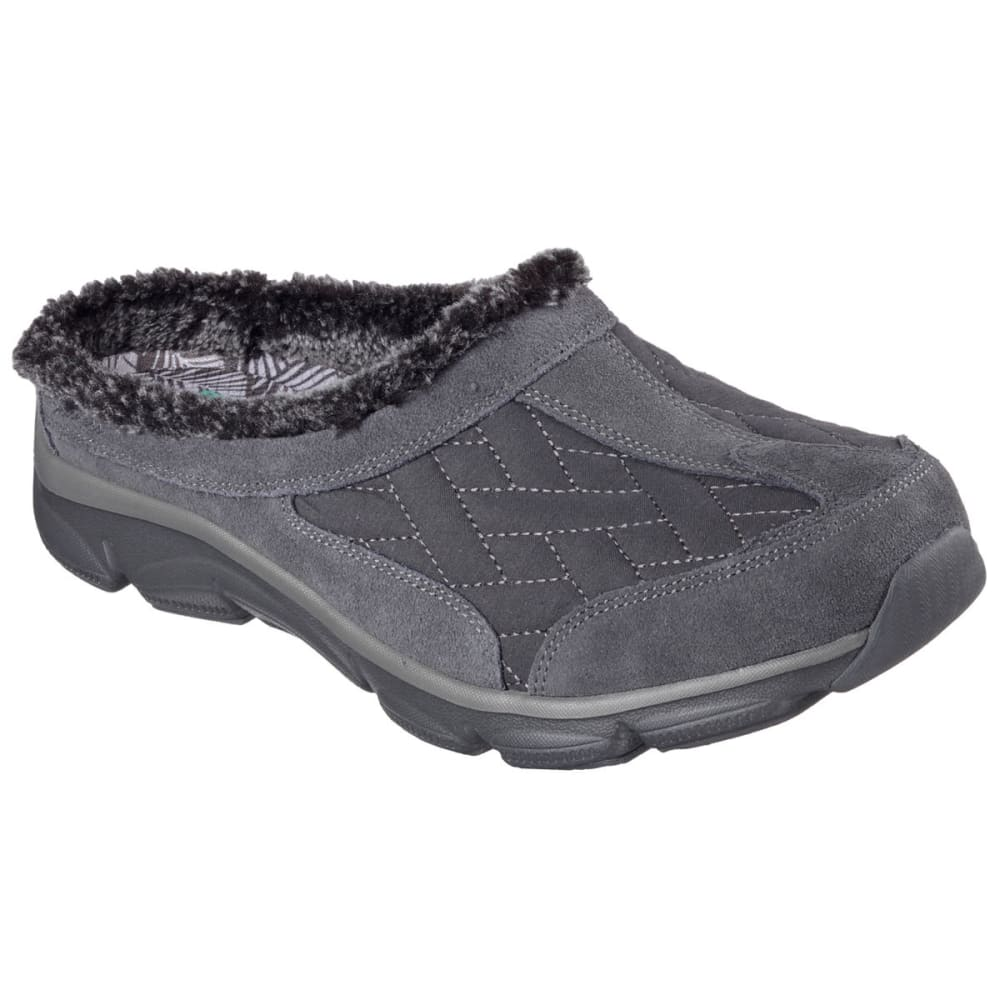 SKECHERS Women's Relaxed Fit: Comfy Living – Chillax Shoes - CHARCOAL
