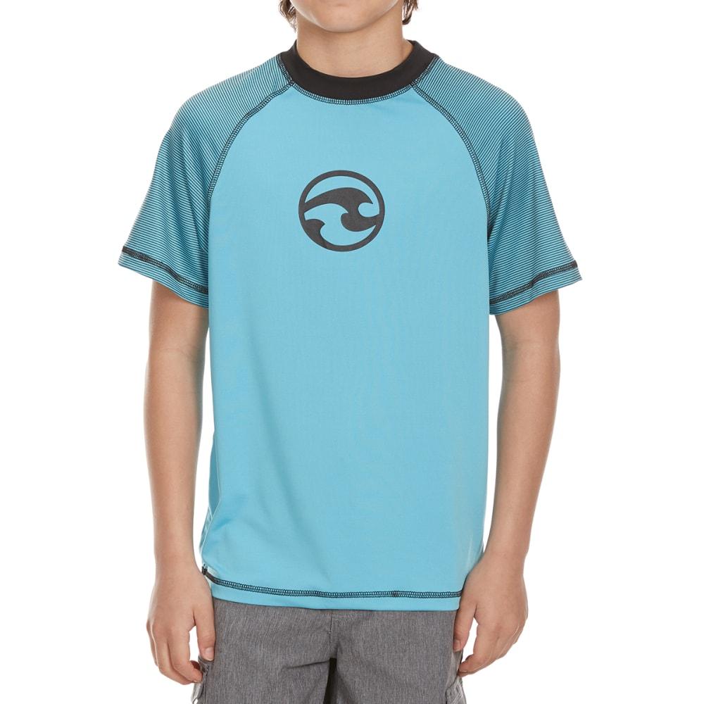 OCEAN CURRENT Boys' Bandit Swim Top - VIVID BLUE