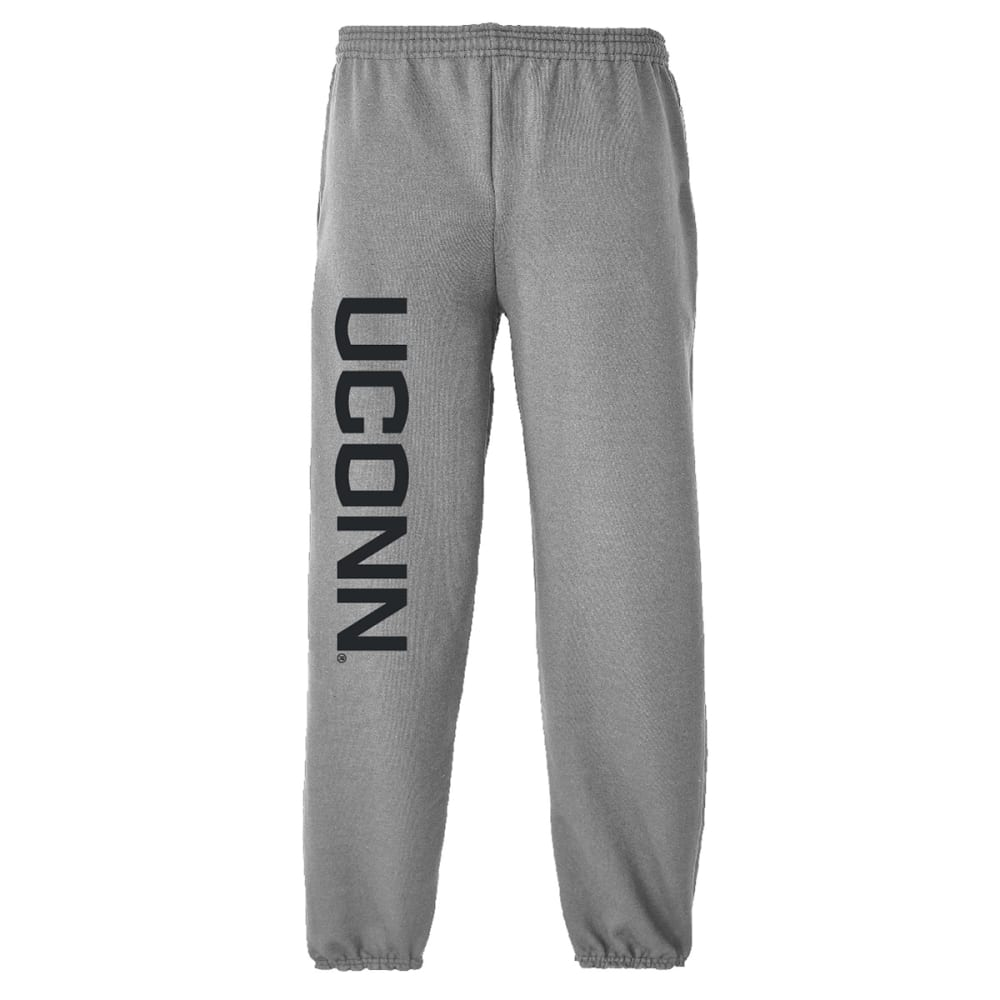 UCONN Men's Sweatpants - GREY