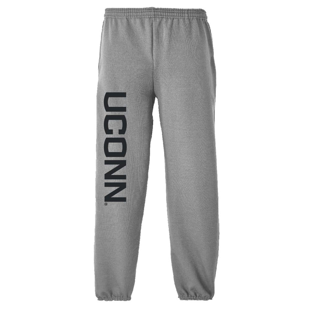UCONN Men's Sweatpants - GREY