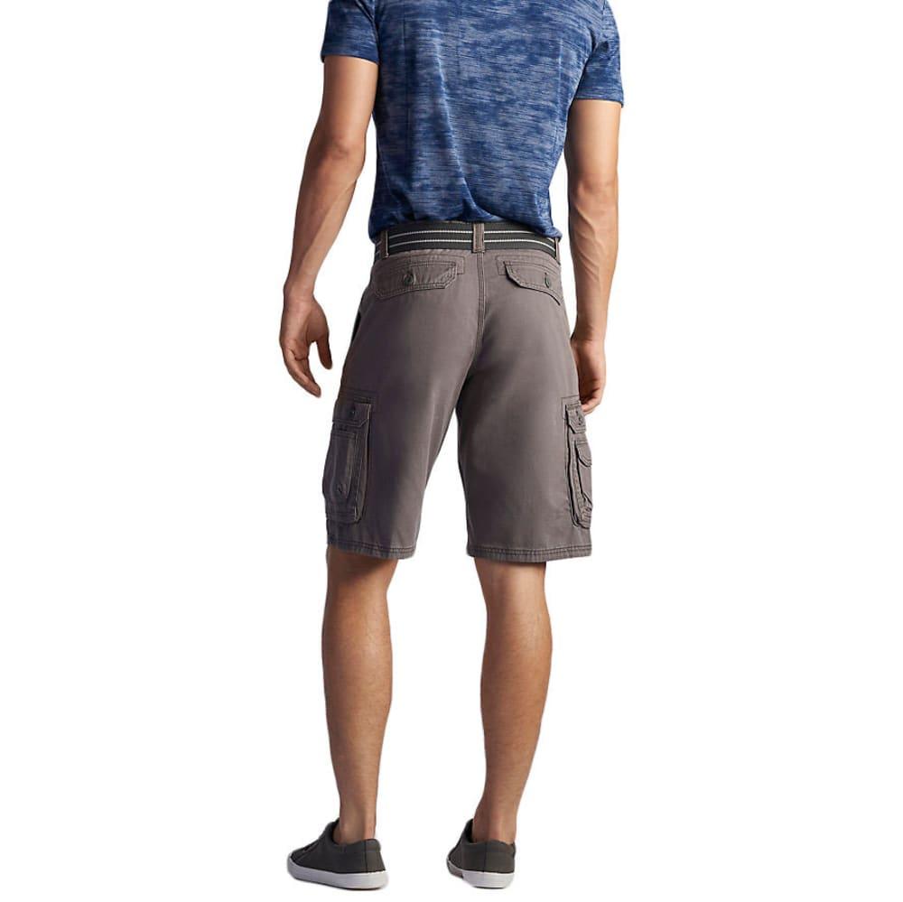 LEE Guys' Wyoming Twill Solid Cargo Shorts - VAPOR-3317