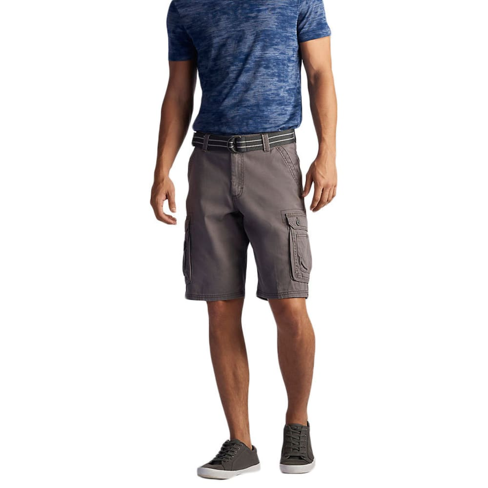 LEE Guys' Wyoming Twill Solid Cargo Shorts - VAPOR-3317
