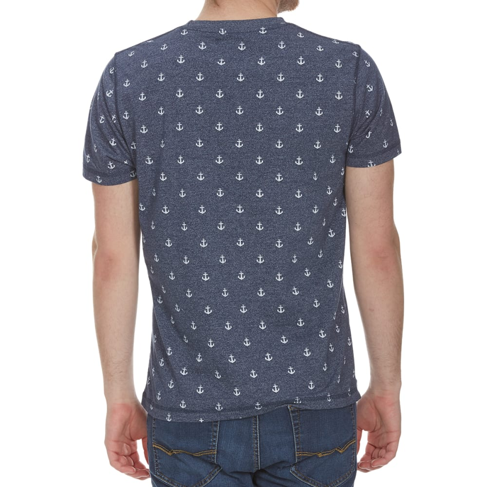ALPHA BETA Guys' Printed Short-Sleeve Tee - ANCHOR-JP369