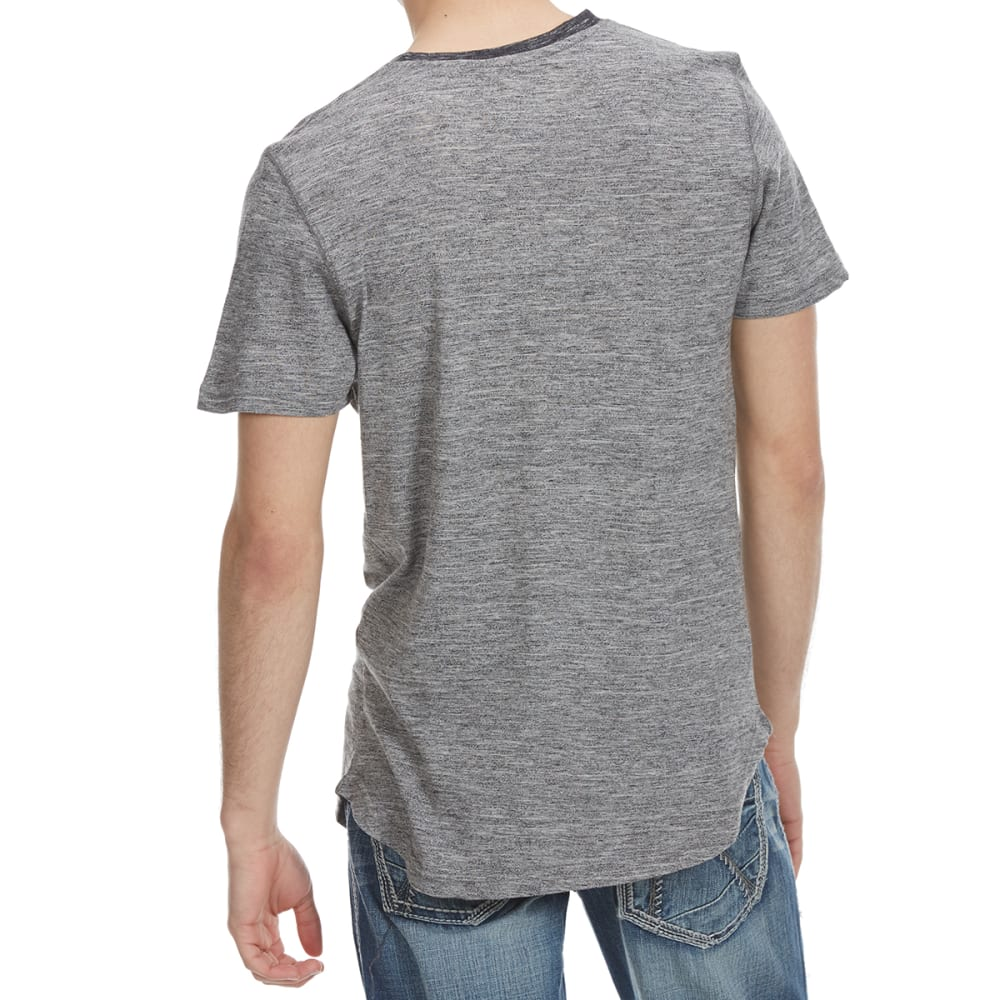 ALPHA BETA Guys' Raino Pocket Crew Short-Sleeve Tee - GREY/BLK