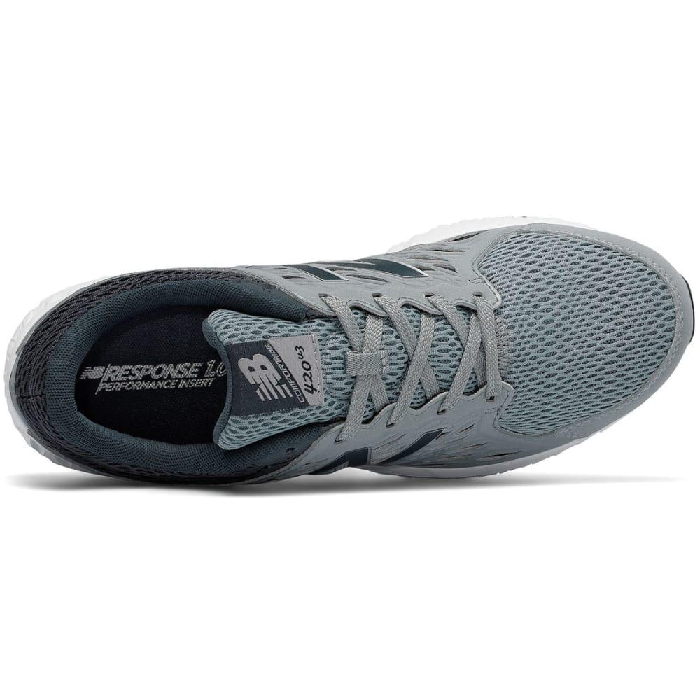 NEW BALANCE Men's 420 Runner Running Shoes, Silver - SILVER