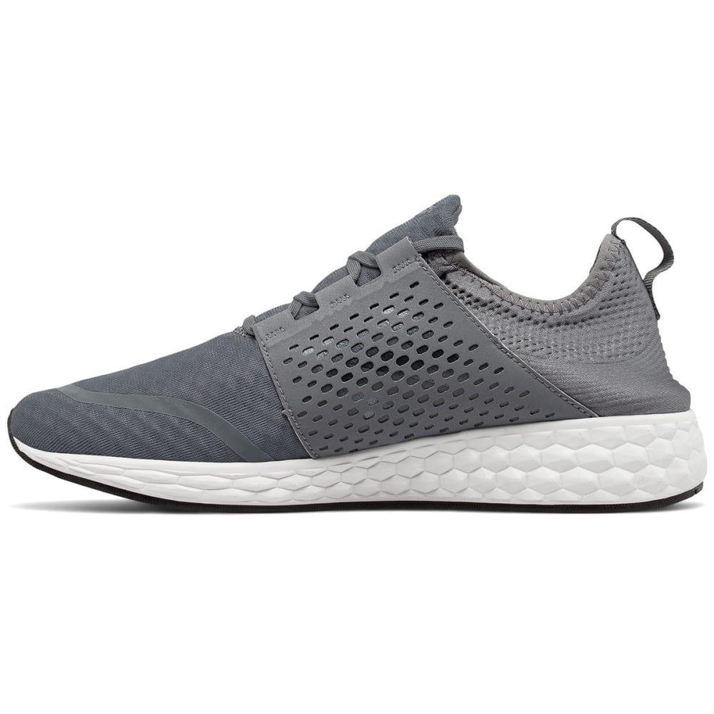 NEW BALANCE Men's Fresh Foam Cruz V1 Running Shoes, Gunmetal/White - GREY