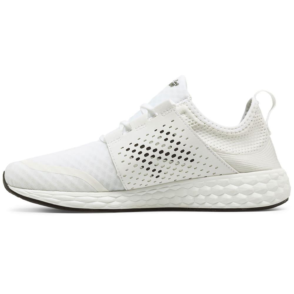NEW BALANCE Men's Fresh Foam Cruz V1 Running Shoes, White - WHITE