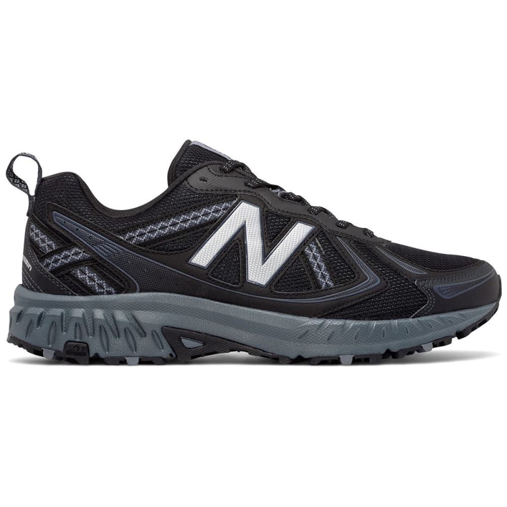 NEW BALANCE Men's 410v5 Trail Running Shoes, Black/Thunder - BLACK - MED