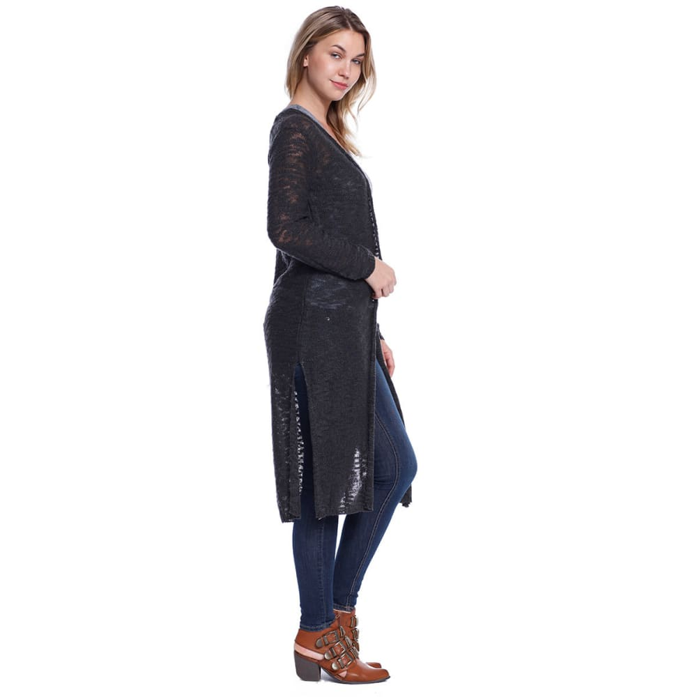 TAYLOR & SAGE Juniors' Knitted Duster Cardigan - TAR-TAR