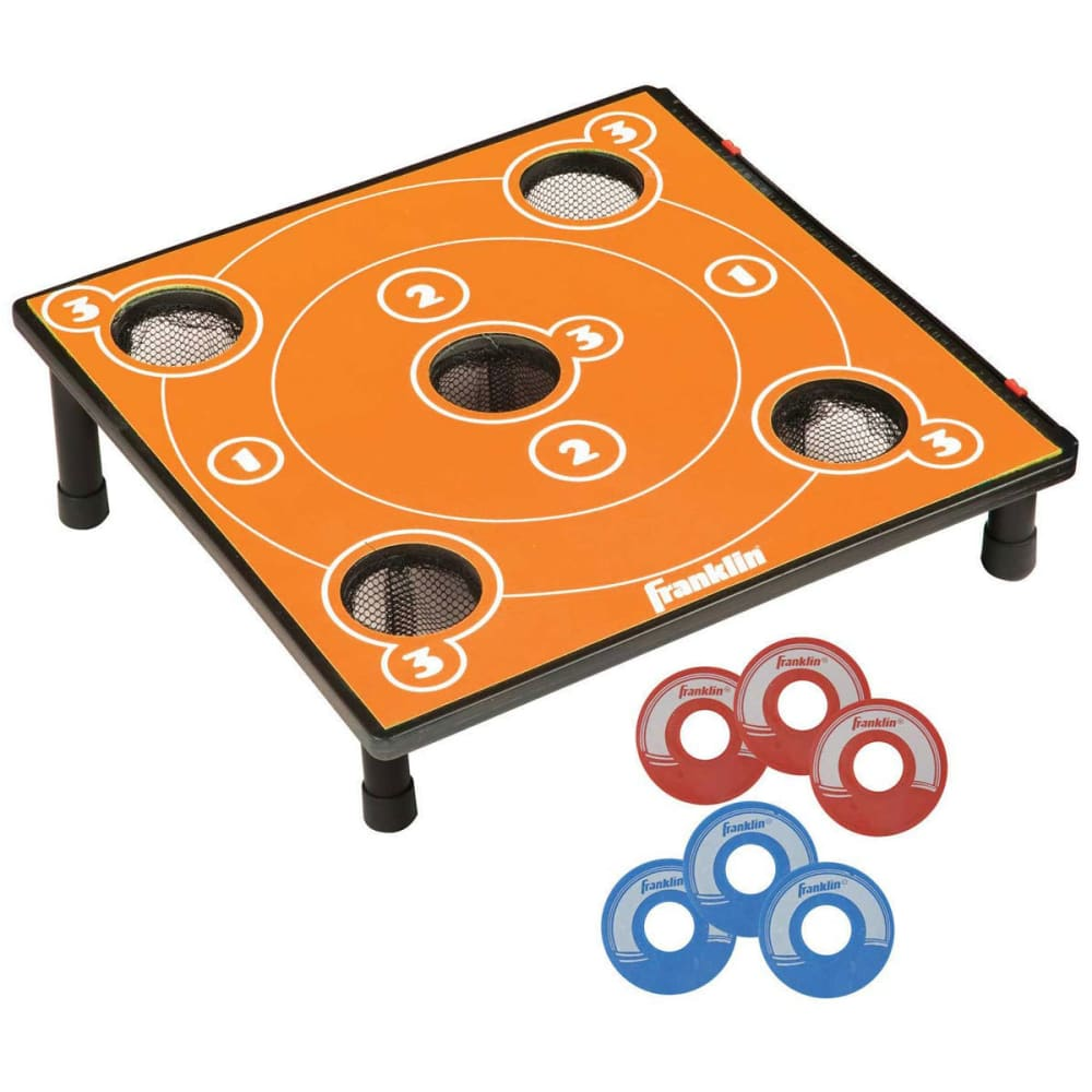 FRANKLIN 5 Hole Washers Yard Game - NO COLOR